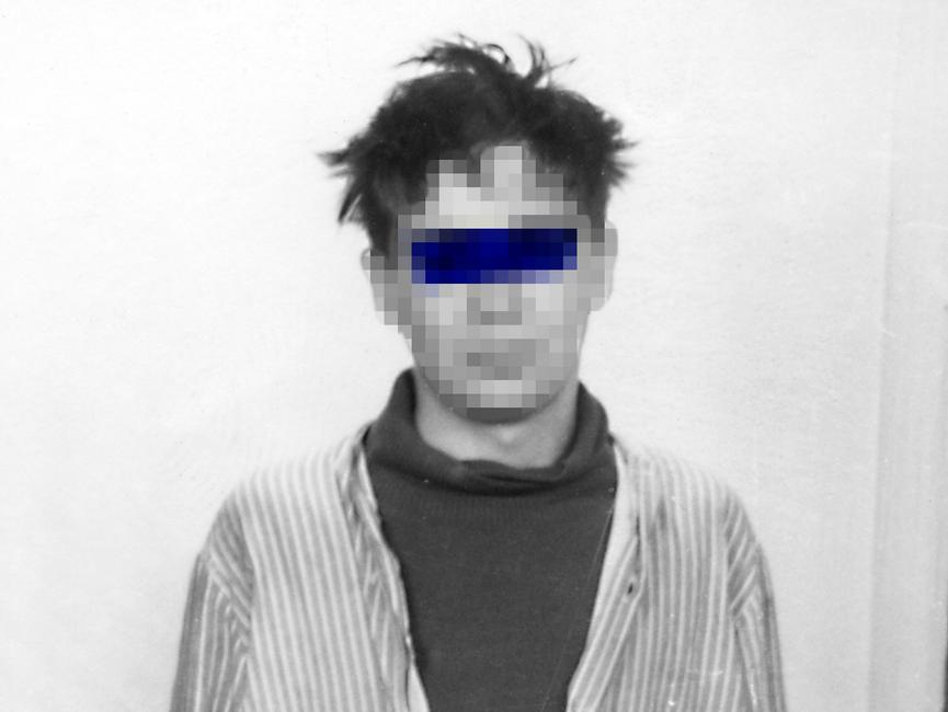 Foto eines männlichen Punks