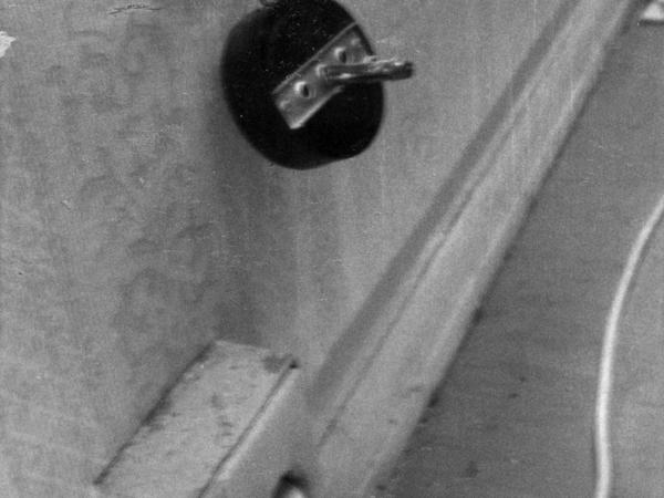 Abhöranlage (Wanze) in einer Privatwohnung.